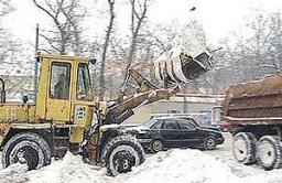 Снегоуборочный погрузчик Амкадор 342