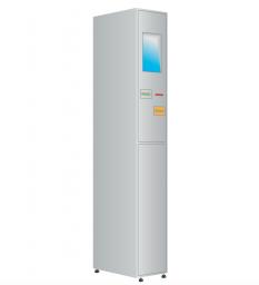 Модуль управления автоматической камеры хранения