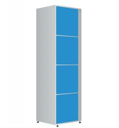 Модуль хранения автоматической камеры хранения для вокзалов на 4 ячейки