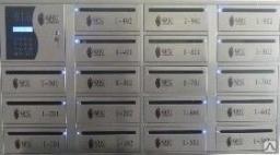 Электронный почтовый ящик Модель - Mailbox-card-18-S