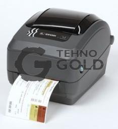 Zebra GX430t Термотрансферный принтер печати этикеток