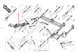Гидроцилиндр поворота рабочего органа КРД-1,5.03.11.000