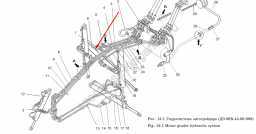 Гидроцилиндр выноса ДЗ-98В.43.03.000 (Вес 106 кг.)