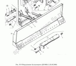 Оборудование бульдозерное ДЗ-98В1.2.25.000
