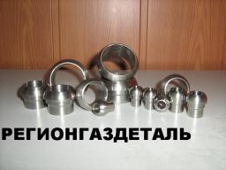 Ниппель приварной 12-012 ст.12Х18Н10Т ГОСТ 16042-70