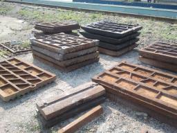 Плиты для щековых дробилок СМД-108, СМД-109, СМД-110, СМД-111, СМ-741, СМ-16
