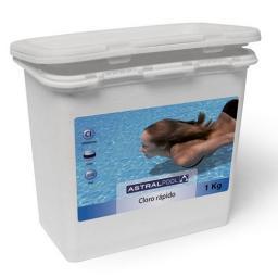 Дихлор (1 кг.) - хлор для бассейна в таблетках