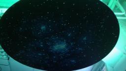 Подвесной фибероптический модуль «Сказочная галактика» 100х100 см