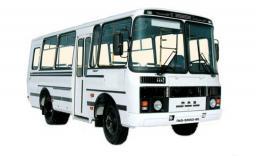 Развозка персонала на автобусе ПАЗ