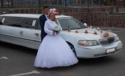 Заказ лимузина на свадьбу в Оренбурге