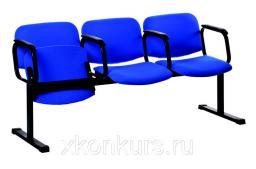 Секционные кресла АРТ-СД-03 (секция из 3-х штук)