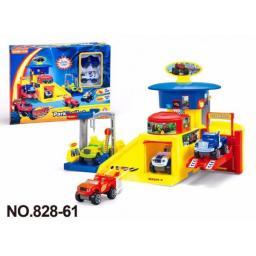 Вспыш Игровой набор Автопарковка + 2 машинки