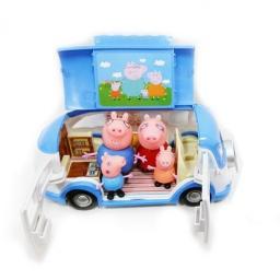 Автобус Свинки Пеппы + 4 фигурки