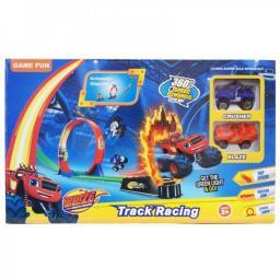 Игровой набор Автотрек Кольцо + 2 машинки Вспыш и Чудо-машинки