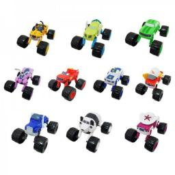 Набор 10 машинок 13 см с раздвижными колесами Вспыш и Чудо-машинки
