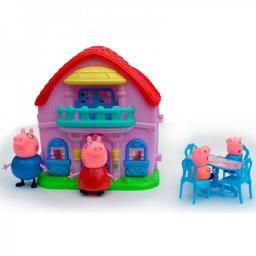 Набор Домик Свинки Пеппы (+4 фигурки)