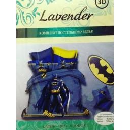 Постельное белье Бэтмен (Batman)  1.5 спальный