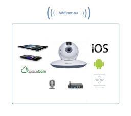 RVI, моторизированная WiFi-LAN видеокамера с облачным сервисом SpaceCam T1, HD