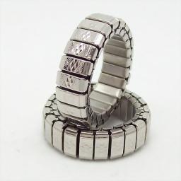 Мужское кольцо из стали растяжимое 4071