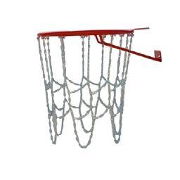 Антивандальная сетка - цепь для баскетбольного кольца No-7, на 12 мест