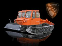 Трелевочный трактор МСН-10 с трехместной кабиной. Новая модель.