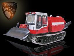 Лесопожарный трактор МСН-10ПМ «Рубеж 4000». Производство.