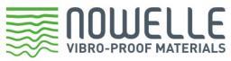 Вибродемпфирующий эластомерный материал Nowelle mod. 1.20 общего назначения 700х700х20.