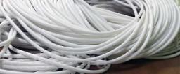 Силиконовый уплотнительный шнур круглый - диаметр 2 мм