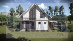 Проект загородного дома BO-01