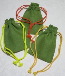 Льняной мешочек для трав 10х15