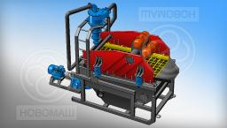Установки промывки песка НОВОМАКС ЦО с гидроциклоном