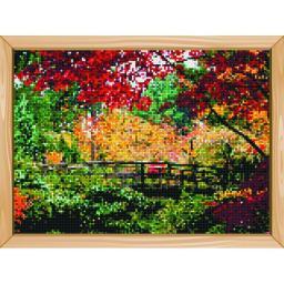 Алмазная мозаика Яркое лето в парке, 30x40