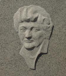 Портрет на гранитной стелле