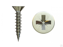 Винт самонарезающий с потайной головкой ГОСТ 11652-80