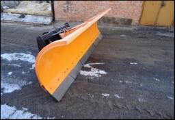 ОТВАЛ КОММУНАЛЬНЫЙ на фронтальный погрузчик Doosan, XCMG, ТО-18, МоАЗ