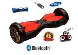 Гироскутер Smart.  2 поколение. Трансформеры. Черный с красным. Bluetooth