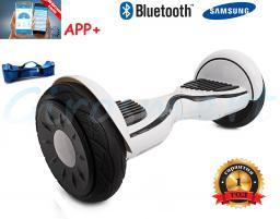 Гироскутер Smart Balance PRO САМОБАЛАНС. 6 поколение. Premium. Белый. Bluetooth. C APP.