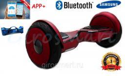 Гироскутер Smart Balance NEW 10,5 САМОБАЛАНС. Premium. Бордовый матовый. Bluetooth. С АРР.
