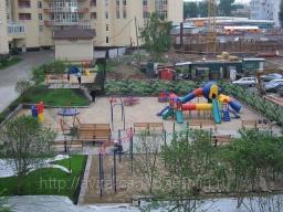 Детская площадка. Галактика