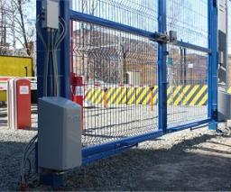 Привод электромеханический рычажный для распашных ворот «ПРЕПОНА» ПВР-02
