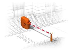 Автоматический шлагбаум вандалоустойчивого типа (ВУ)