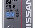 O.E.M for NISSAN SAE 5W30 Strong SAVE-X API SN, железная канистра 4л