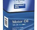 SAE 5W30 O.E.M. for GM Opel Chevrolet API SN масло моторное, железная канистра (банка) 5 л