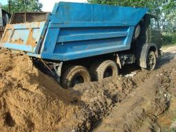 Доставка глины, самосвал 10 тонн