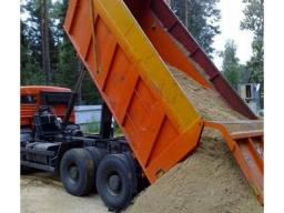 Доставка песка, самосвал 10 тонн