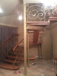 Кованые перила к лестницам. входные группы, беседки