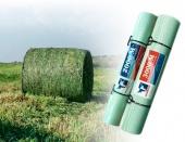 Сеть сеновязальная,тюковочная для пресс-подборщиков ТАМА (Экобул)1,23*3000 м.п.