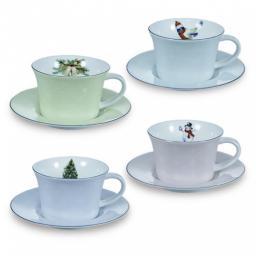 Пара чайная, 4 перс, 8 предметов, дыхание зимы - Kuchenland (S17709I)