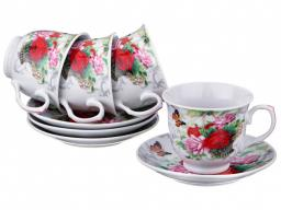 Чайный набор на 4 персоны 8 пр. 200 мл. Hebei Grinding (389-412)