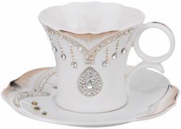 Чайный набор на 6 персон 12 пр. 200 мл. Porcelain Manufacturing (437-056)